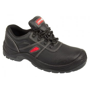 SHOES, LEATHER, BLACK-RED, S3 SRA, '' 4 4'' , CE, LAHTI