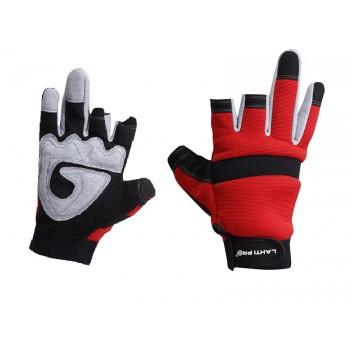 Handskar, st. 11, utan 3 fingrar, mikrofiber, spandex, CE, EN 420, LahtiPro L2812
