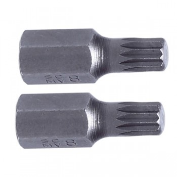 SPLINE BITS 3/8'' (10MM) M9, 2st., S2, PROLINE
