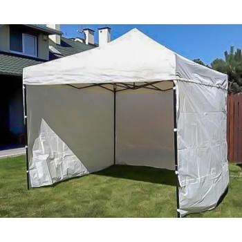Tält 2x2m  stabil av bra kvalitet  3 + 1 väggar (snabbtält  arbetstält  försäljningstält  eventtält)