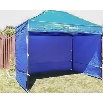 Tält 2x3m  stabil av bra kvalitet  3 + 1 väggar (snabbtält  arbetstält  försäljningstält  eventtält)