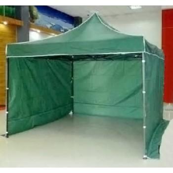 Tält 3x3m, stabil av bra kvalitet, 3 + 1 väggar (snabbtält, arbetstält, försäljningstält, eventtält)