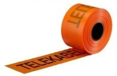 Markeringsband Telekabel Orange
