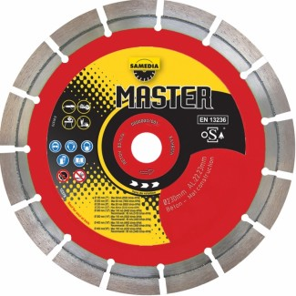 Diamantklinga Master BV13  115-350mm Diameter