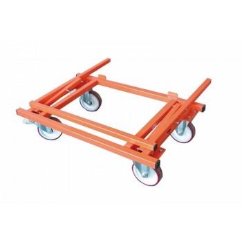 Skivvagn 405 kg med 4 hjul