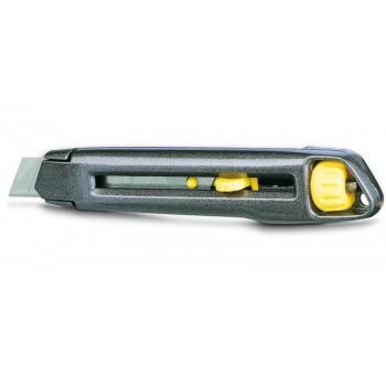 Brytbladskniv 18mm Interlock, inkl. 10 blad, Stanley