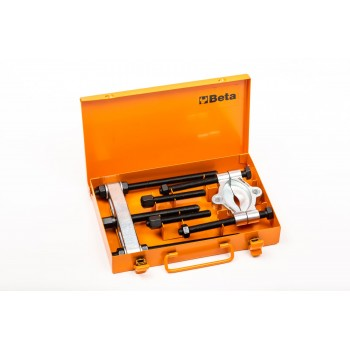 Avdragare sats, flera varianter med diametern 5-220mm, med förlängare och separator, Beta Tools