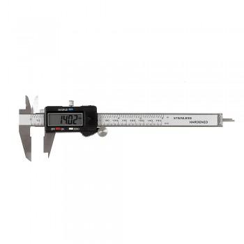 Skjutmått, elektronikst 150mm, nogrannhet 0,03mm, CE, PROLINE