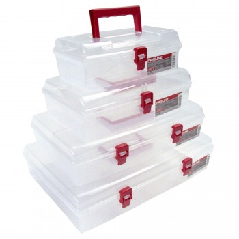 Förvaringsbox med handtag, organiser 6 fack 40x30x85 cm, PROLINE