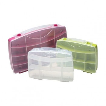Förvaringsboxar, organiser 3st i olika färger