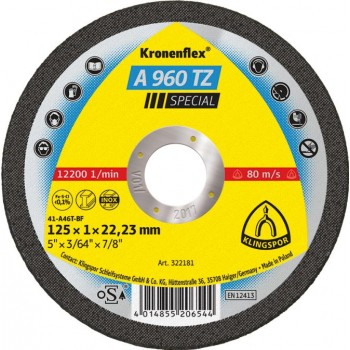 Kapskiva för metall INOX 115x1x22.2