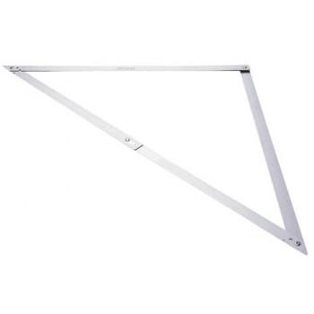 Kombinationsvinkel av aluminium, Stanley 122x122x12,2 cm