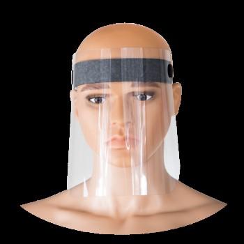 Skyddsvisir 1st, ansiktskydd, visir av polyester ( säljs i 10-pack)