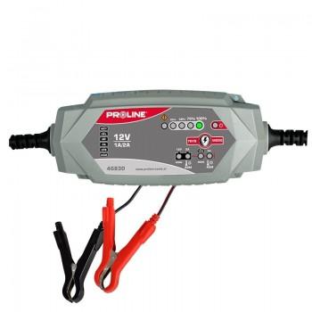 Bilbatteriladdare 12V, 2A CE PROLINE