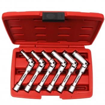 Hylsnyckelsats för diesel tändstift, tändstiftshylsa 6st Proline