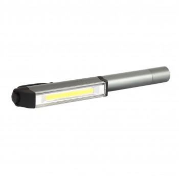Arbetlampa LED, starkt aluminium, 3xAAA, PROLINE, CE