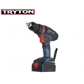 SKRUVDRAGARE Tryto    n, BATTERIDRIVEN 18  V, 2 BAT. 1.5Ah LI-ION, 2 växlar, BMC