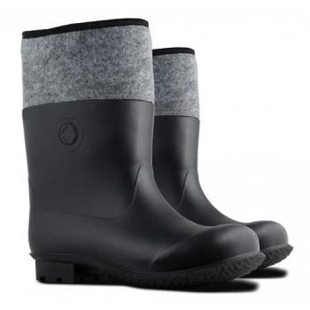 MEN'S FELT BOOTS (021), PVC, S. 45, KOLMAX