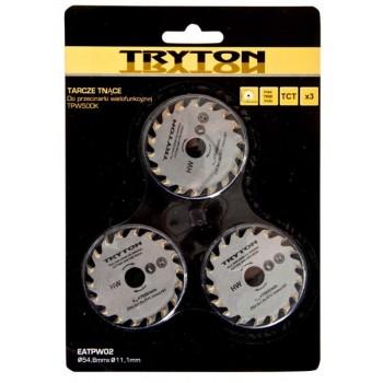 Sågklinga, sats, TCT 54.8  X11.1MM för TPW500K - 3 st