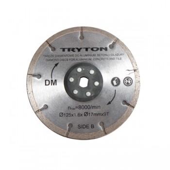 Diamantkapskiva dubbel, för kakel och sten 125MM för DUAL-BLADE såg TPD860K