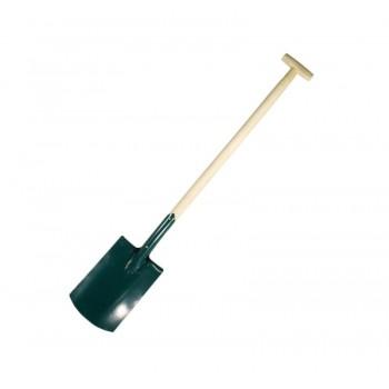 Spade för trädgårdsarbeten  , trähandatg