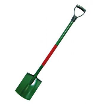 Spade för trädgårdsarbeten-metallskaft