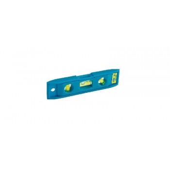 Torpedpass Stanley Torpedo, ABS, 225mm, 3 libeller, blå, magnetiskt