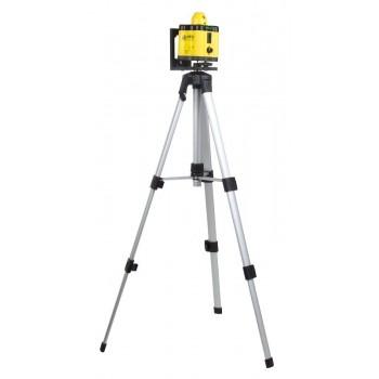 Laserpass, vridbar 400mm, inkl. aluminium stativ (45-120cm), CE
