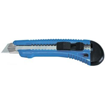 RETRACTABLE KNIFE 18  MM BLADE . METAL QUIDE för BLADE. B