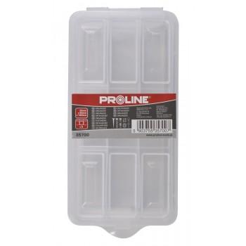 Förvaringsbox, organiser 6 fack 3.5x9x18 cm, PROLINE