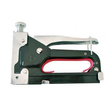 Kraftig häftapparat av metall 4-14mm, pulverlackad, justeringsbar styrka