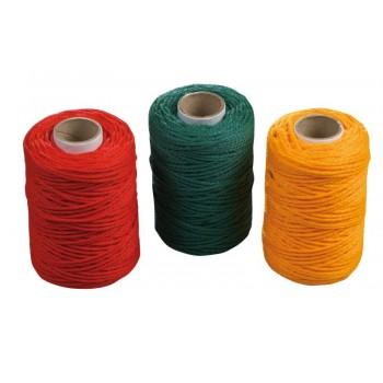 Fogsnöre plast (polypropylen) - 50MM, sats med 3 färger