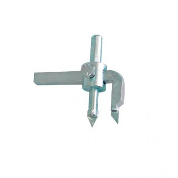 Hålsåg, hålskärare för kakel 30-110mm justerbar, fast kniv