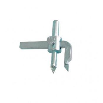 Hålsåg, hålskärare för kakel 20-90mm justerbar, fast kniv