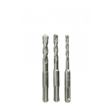 Betongborr, 3st SDS PLUS 6,8,10*110MM plastbox
