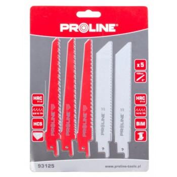 Sågblad för metall, 5st Proline (TPS710, TPS1050)