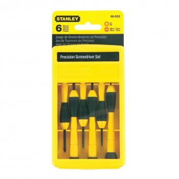 Klockverktyg, precisionsverktyg - sats med små skruvmejslar, Stanley