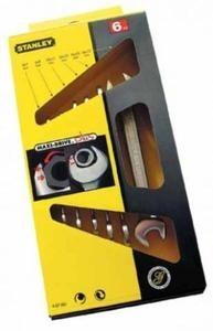 Blocknyckel, sats 6st 6-17mm Stanley MAXI-DRIVE, box