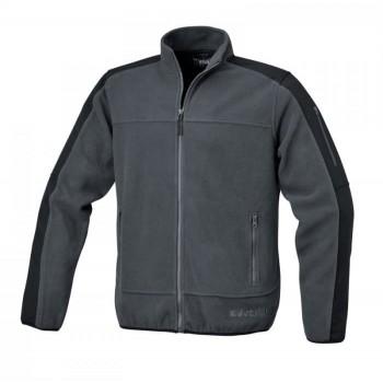 Fleecejacka med insydda polyersterdelar, med fickor, 280 g/m2 mycket skön, varm och snygg, Beta Workwear