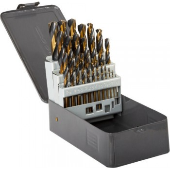 Metallborr sats 13st, HSS TWIST DRILL - DIN338  ( 1-13 )  PROLINE