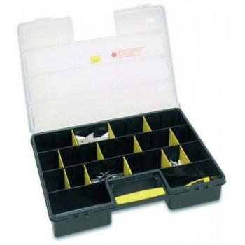 Förvaringsbox, organiser 25 flyttbara fack 46x33.5x80 cm, Stanley