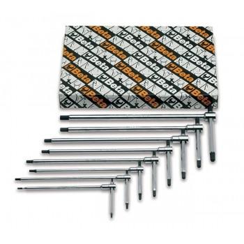 T-handtag insex 2-6mm, sats 8st, Beta Tools