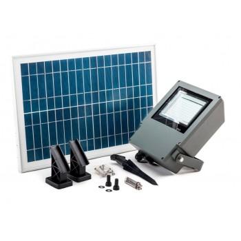 Professionell strålkastare 108st LED SMD (2835) 550 LM med 20W solpanel, 6000mAh batteri, IP65, Capral