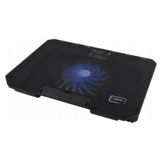 Laptop kylning, underlag med kylfläktar, regleringsbar lutningsvinkel, drivs via USB - Esperanza