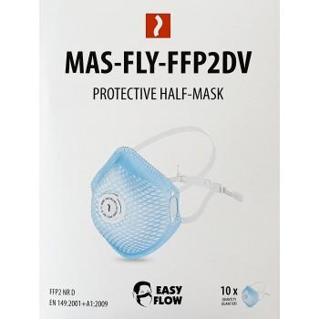 FFP2, 93% Droppskydd  andningsmask med ventil,  CE, Easy Flow