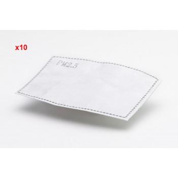 Filter för andningsskydd 10st, skyddar mot virus bakterier m.m. MP 2.5 FFP2 N95
