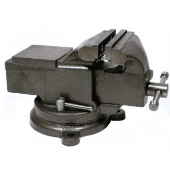 Skruvstycke 200mm, skruvstäd vridbart 360˚ 20kg, gjutjärn, Geko
