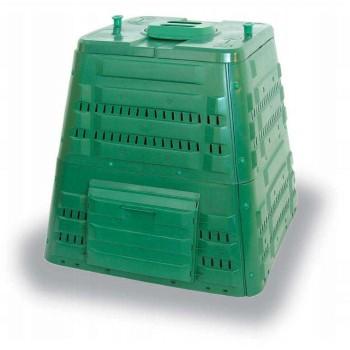 Kompostbehållare 400L, kompostbox för varm kompost utomhus åretrunt, Ekobat Termo