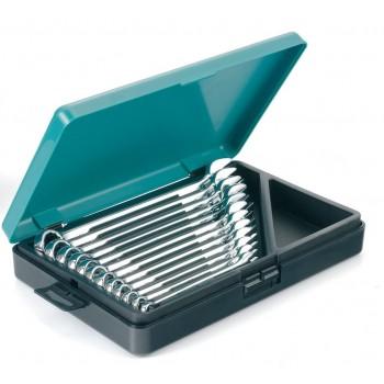 Kamasa Tools K10026, U-ringnyckelsats, kombinyckelsats, blocknyckelsats, 12st. nycklar 8-19 mm i låda