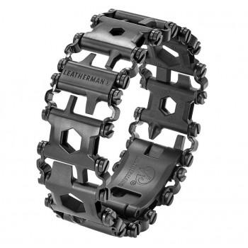 Leatherman Tread® Metric Black / Silver Multiverktyg, armband med 29 verktyg